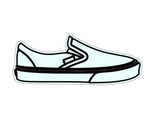Vans style Cookie Cutter - Sneaker Cookie Cutter - Periwinkles Cutters LLC