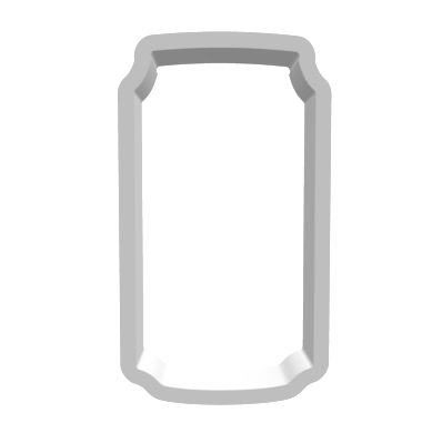 Beer / Soda Can Cookie Cutter - Narrow - Periwinkles Cutters LLC