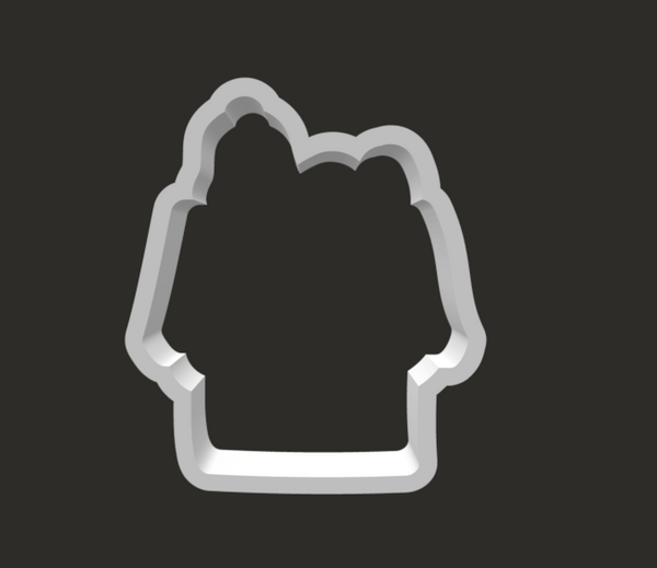 Snoopy on House Cookie Cutter - Periwinkles Cutters LLC