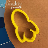 Rocket Cookie Cutter - Rocketship - Periwinkles Cutters LLC