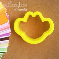 Cowboy Face Cookie Cutter - Periwinkles Cutters LLC
