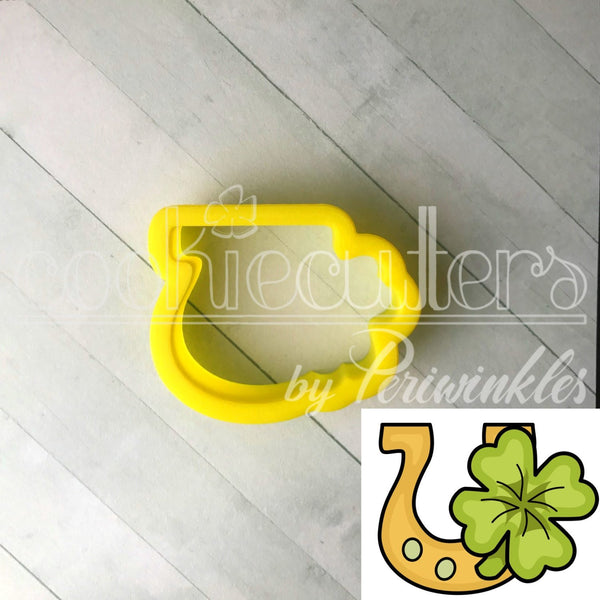 Lucky Horseshoe Cookie Cutter - Periwinkles Cutters LLC