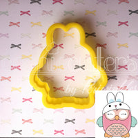 Bunny Owl Cookie Cutter - Periwinkles Cutters LLC