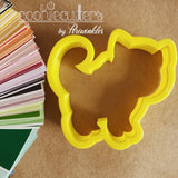 Kitty Cat Cookie Cutter - Periwinkles Cutters LLC