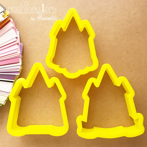 Princess Castles Cookie Cutter - Periwinkles Cutters LLC