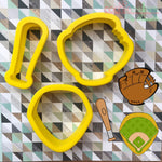 Baseball Cookie Cutters - Periwinkles Cutters LLC