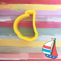Sailboat Cookie Cutter - Periwinkles Cutters LLC