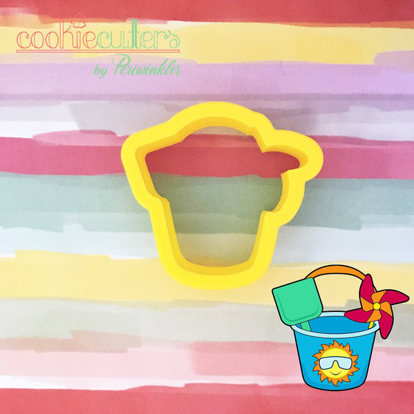 Sand Bucket Cookie Cutter - Periwinkles Cutters LLC