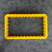 Scallop Frames Cookie Cutter