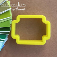 Carnival Ticket  Cookie Cutter - Periwinkles Cutters LLC