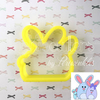 Bunny Family Cookie Cutter - Periwinkles Cutters LLC