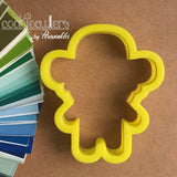 Pirate Cookie Cutter - Periwinkles Cutters LLC