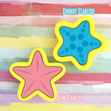 Starfish Cookie Cutter - Periwinkles Cutters LLC
