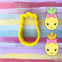 Unicorn Pineapple Cookie Cutter - Periwinkles Cutters LLC