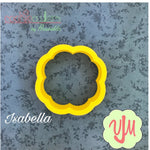 Isabella Plaque Cookie Cutter - Periwinkles Cutters LLC