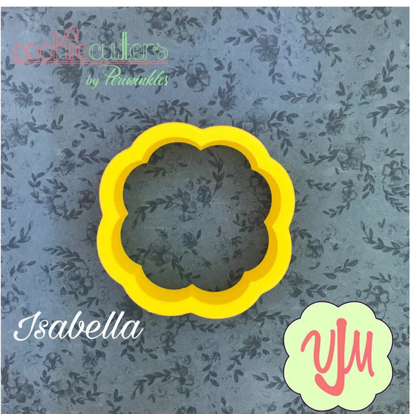 Isabella Plaque Cookie Cutter