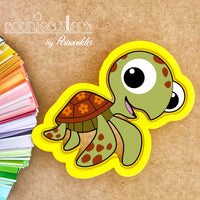 Squirt Cookie Cutter - Turtle - Periwinkles Cutters LLC