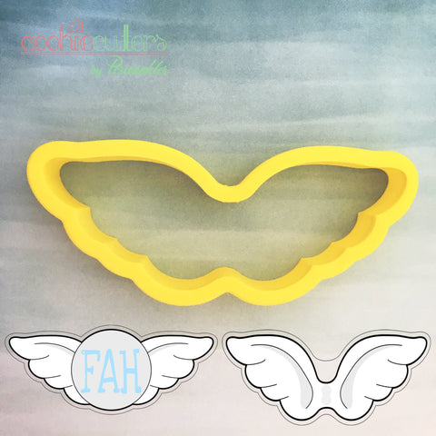 Wings Cookie Cutter - Periwinkles Cutters LLC