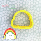 Rainbow Cookie Cutter - Periwinkles Cutters LLC