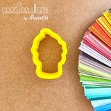 Yogurt Cone Cookie Cutter - Ice Cream - Dole Whip Cookie Cutter - Periwinkles Cutters LLC