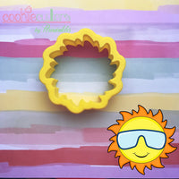 Hot Sunny Cookie Cutter - Periwinkles Cutters LLC