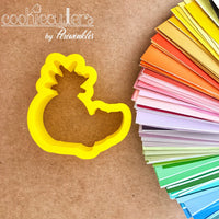 Pineapple Whale Cookie Cutter - Periwinkles Cutters LLC