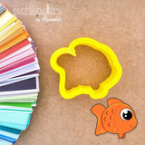 Gold Fish Cookie Cutter - Periwinkles Cutters LLC