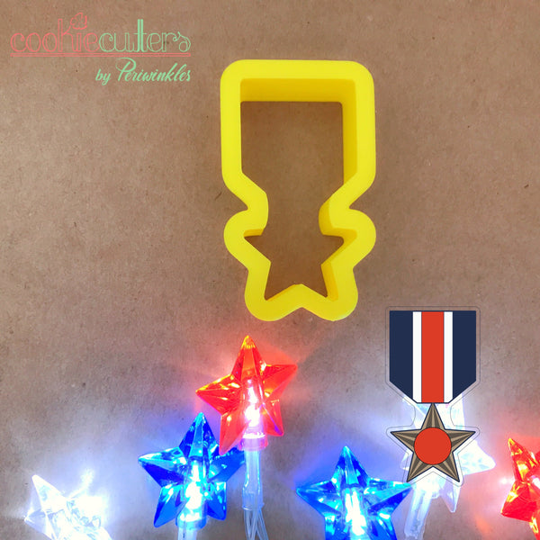 Medal of Honor Cookie Cutter - Periwinkles Cutters LLC