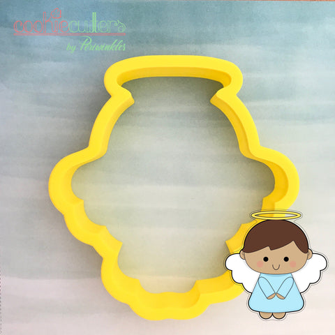 Angel Cookie Cutter - Periwinkles Cutters LLC