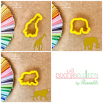 Safari Animals Cookie Cutter