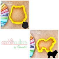Chow Chow Dog Cookie Cutter - Periwinkles Cutters LLC