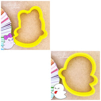 Elf Cookie Cutter - Ghost Cookie Cutter - Halloween and Christmas Cookie Cutter