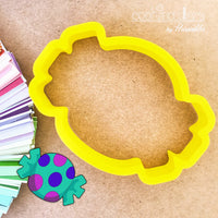 Candy Cookie Cutter - Periwinkles Cutters LLC