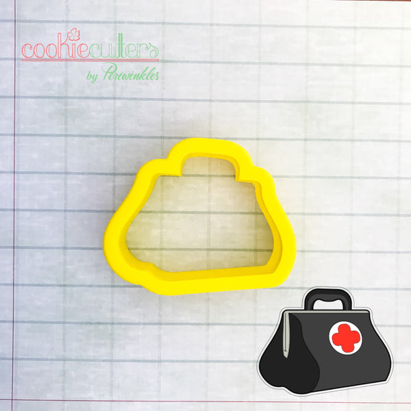 Doctor's Bag Cookie Cutter - Periwinkles Cutters LLC