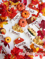 Busy Bree Baking Fall Plaques - Periwinkles Cutters LLC