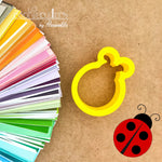 Ladybug Cookie Cutter - Periwinkles Cutters LLC