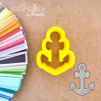 Anchor Cookie Cutter - Periwinkles Cutters LLC