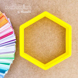 Hexagon Cookie Cutter - Periwinkles Cutters LLC