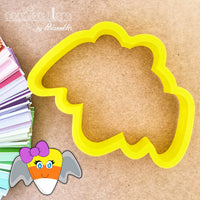 Candy Corn Bat Cookie Cutter - Periwinkles Cutters LLC
