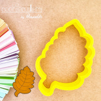 Fall Leafs Cookie Cutter - Periwinkles Cutters LLC
