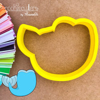 Mermaid Tail Cookie Cutter - Periwinkles Cutters LLC
