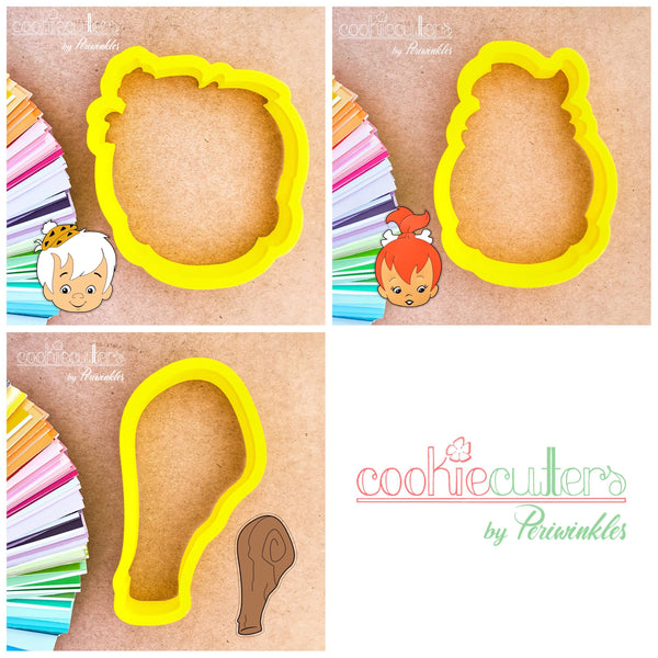 Pebbles - Bamm Bamm  Cookie Cutters