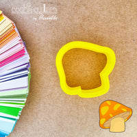 Mushroom Cookie Cutter - Periwinkles Cutters LLC