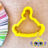 Genie Girls Cookie Cutter - Periwinkles Cutters LLC