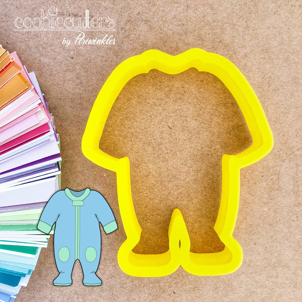 Baby Footie Pajama Cookie Cutter