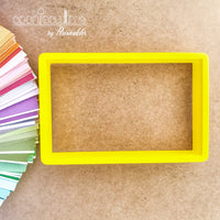 Rectangle - Door Cookie Cutter - Periwinkles Cutters LLC