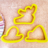 Yoga Poses Cookie Cutter - Periwinkles Cutters LLC