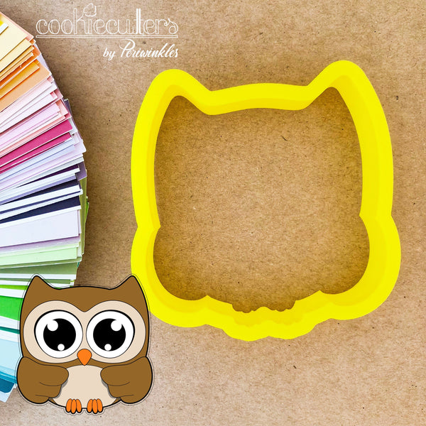 Owl Cookie Cutter - Periwinkles Cutters LLC