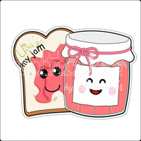 You are my Jam Cookie Cutter - Periwinkles Cutters LLC