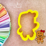 Gingerbread Girl and Boy Cookie Cutter - Mummy Cookie Cutters - Halloween Mummy Cookie Cutter - Christmas Gingy Cookie Cutter - Periwinkles Cutters LLC
